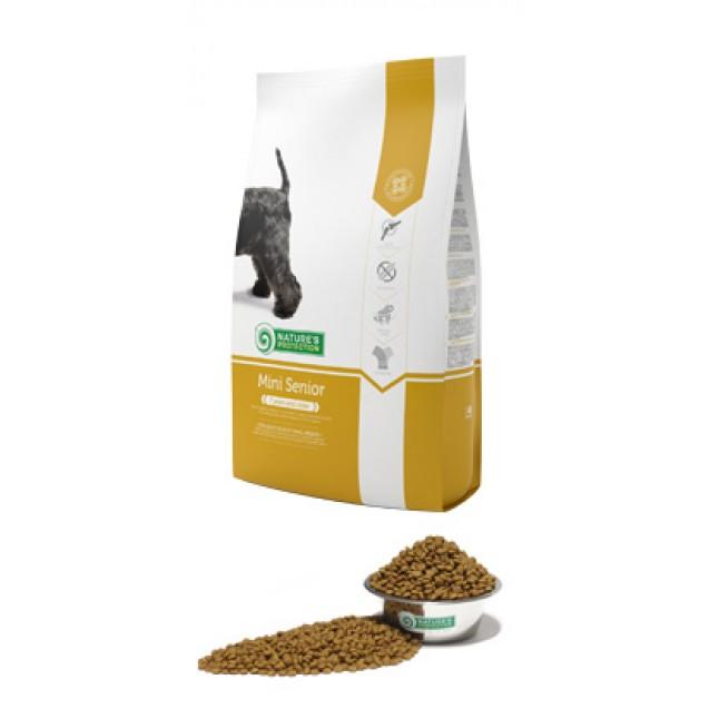 Mini Senior сухой корм Супер-премиум для зрелых собак миниатюрных и малых пород весом 1–10 кг и возрастом старше 7 лет