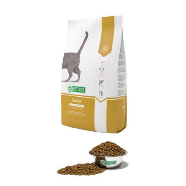 Senior Natures Protection корм для зрелых кошек 10 лет и старше