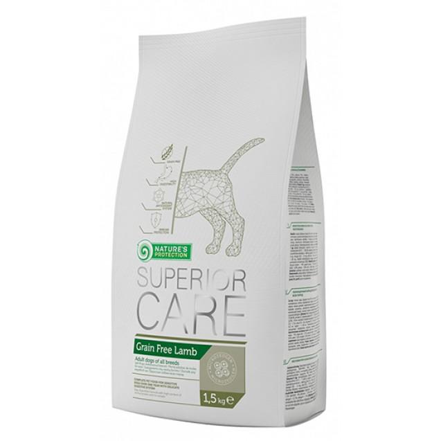 Nature's Protection Grain Free Lamb Беззерновой корм с ягненком для взрослых собак всех пород