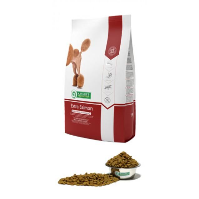 Extra Salmon корм для собак с лососем для взрослых собак всех пород