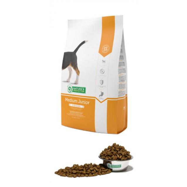 Medium Junior Корм для щенков сердних пород. Вес взрослой собаки: 11-25 кг (2-12 месяцев)