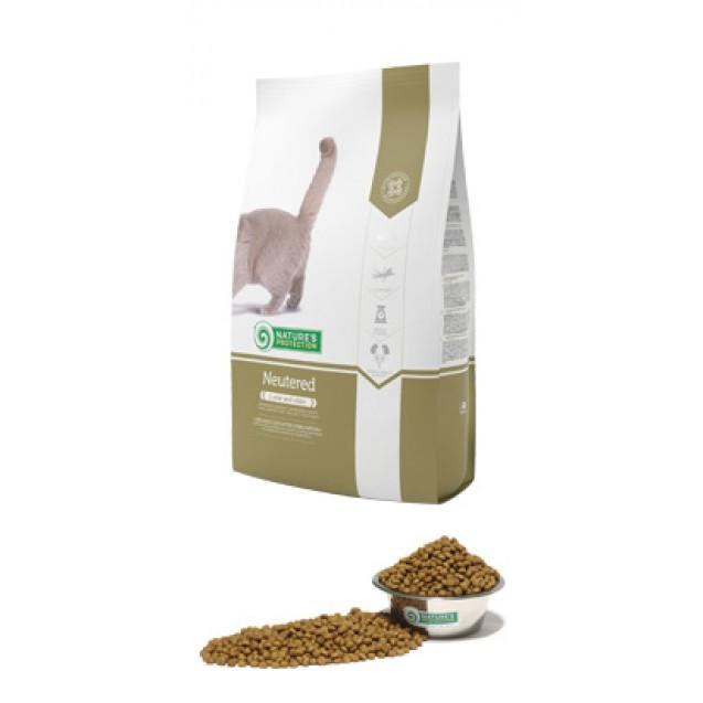Neutered корм для стерилизованных кошек после от 1 года и страше